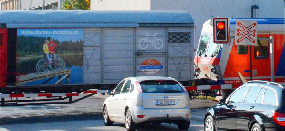 Cycling Passau-Vienna - Railways along the Danube between Passau and Vienna