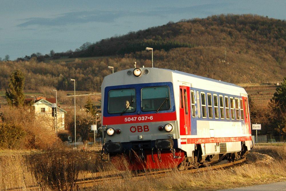 Radtour Passau-Wien - Bahnen zwischen Passau und Wien
