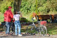 Grote tocht aan de Donau-fietsroute