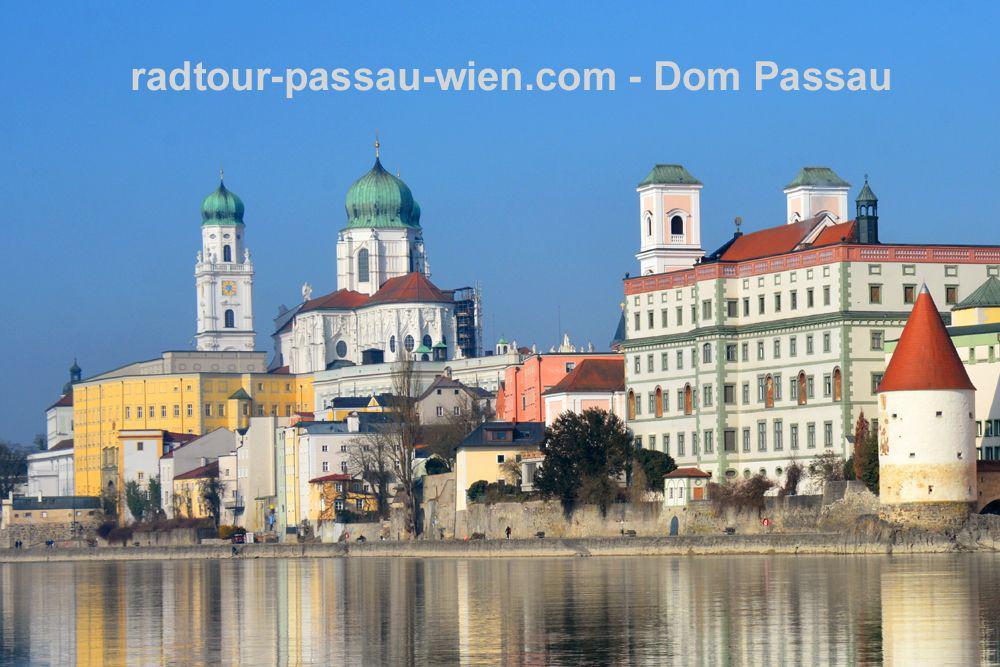 Radtour Passau-Wien - Dom St.Stephan in Passau