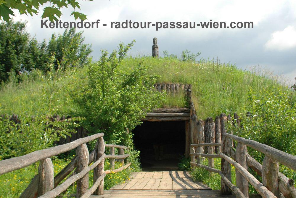 Radtour Passau-Wien - Keltendorf Museum Mitterkirchen