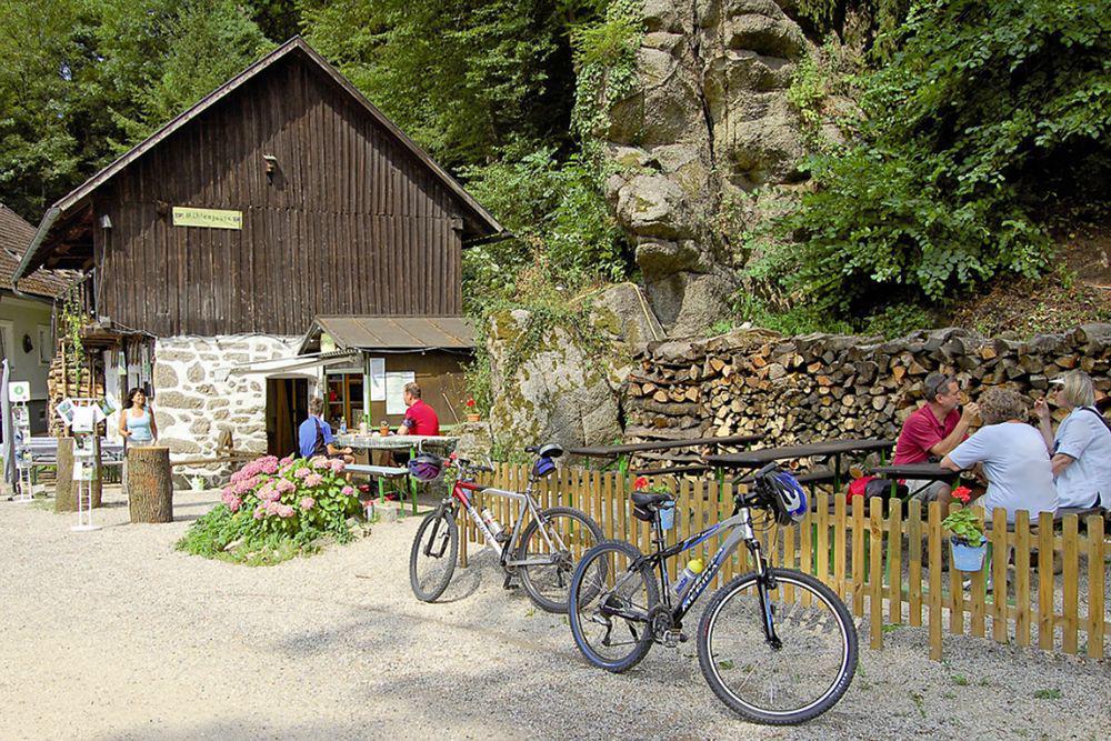 Radtour Passau-Wien - Stillensteinklamm