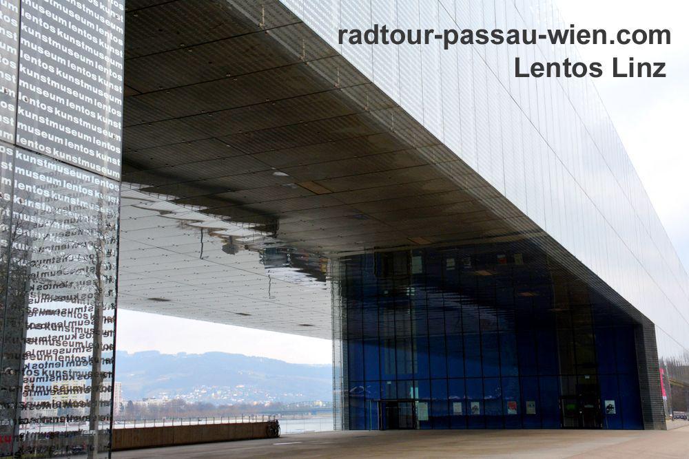 Das Lentos Kunstmuseum in Linz