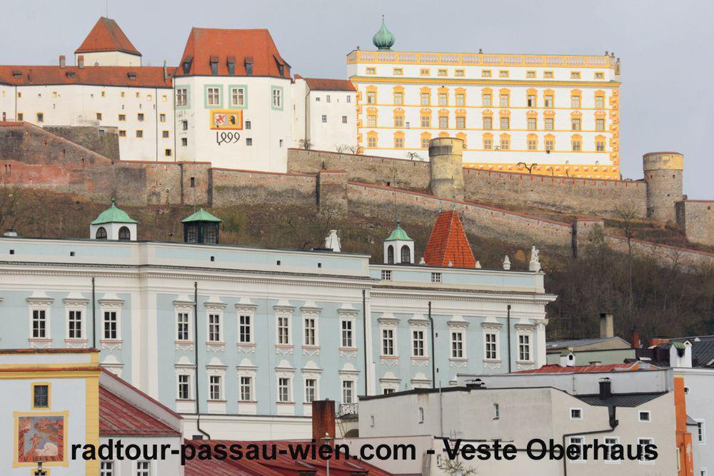Radtour Passau-Wien - Veste Oberhaus