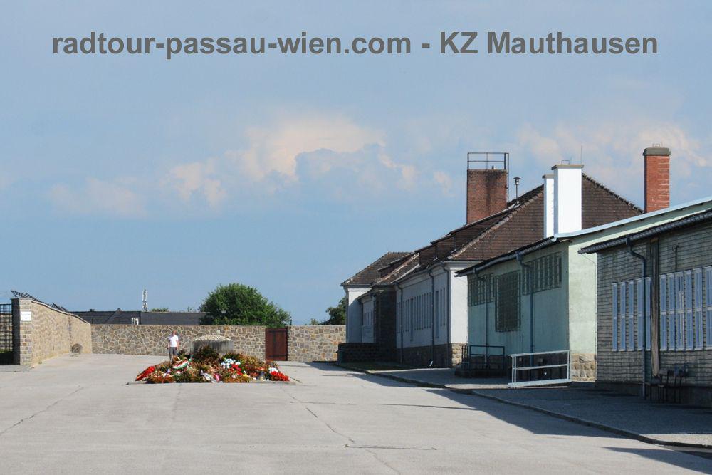 Radtour Passau-Wien - Gedenkstätte KZ Mauthausen
