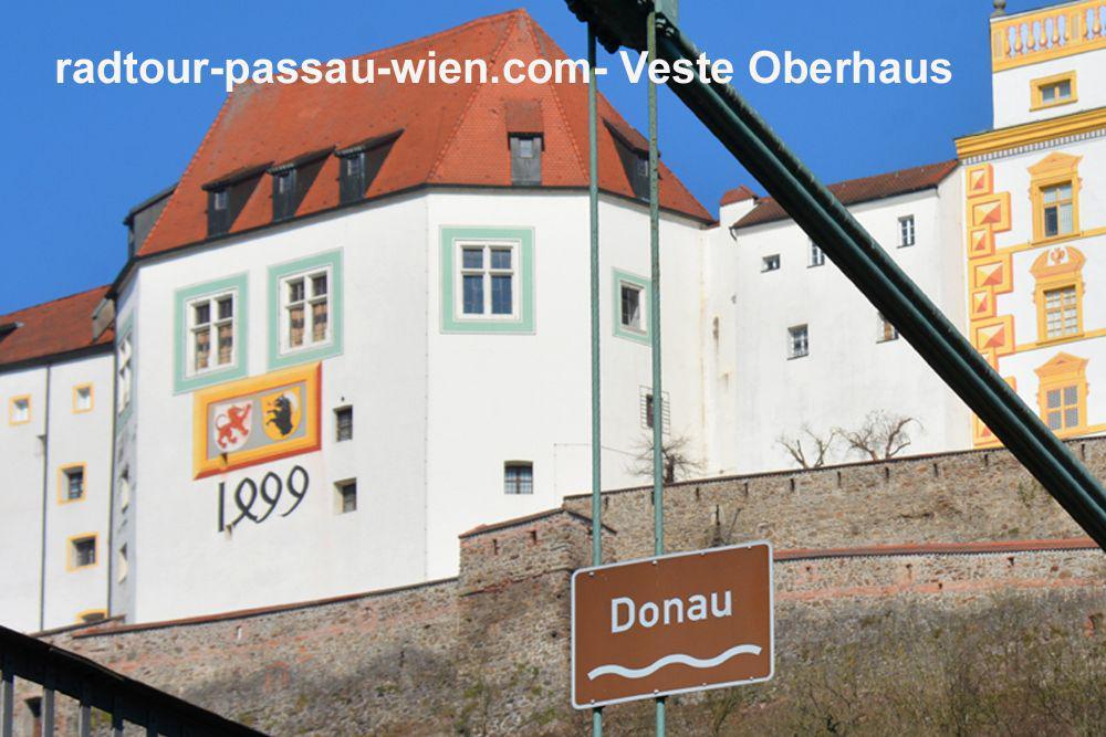 Veste Oberhaus - Donauseite