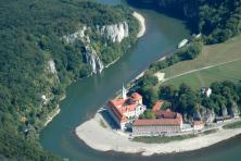 Cycle tour along the Bavarian Danube - Weltenburg