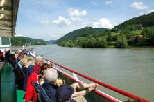 Cyklistická túra Pasov - Vídeň - Donauschifffahrt