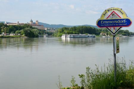 Große Tour am Donauradweg - Melk